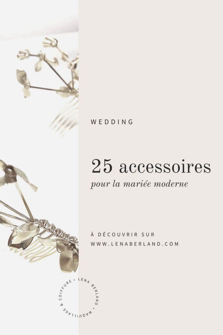 25 accessoires pour la mariée moderne